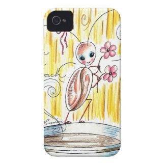 Cassie The Cute Cockroach iPhone 4 Case-Mate Cases