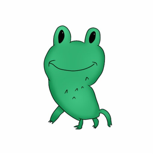 cassie u0026 39 s frog cut out