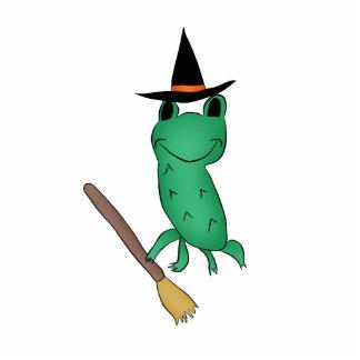 Cassie's Halloween Frog Cutout
