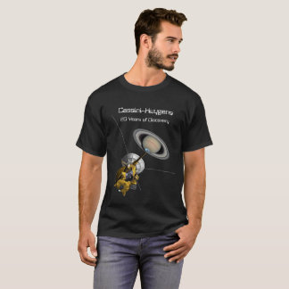 Cassini Huygens 20 Year Mission to Saturn T-Shirt