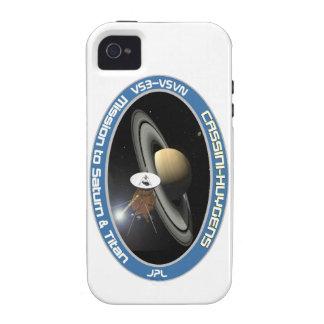 CASSINI - HUYGENS: Misión en Saturn y el titán Vibe iPhone 4 Fundas
