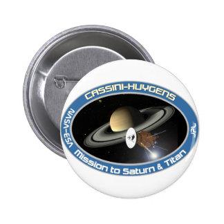 CASSINI - HUYGENS: Misión en Saturn y el titán Pin