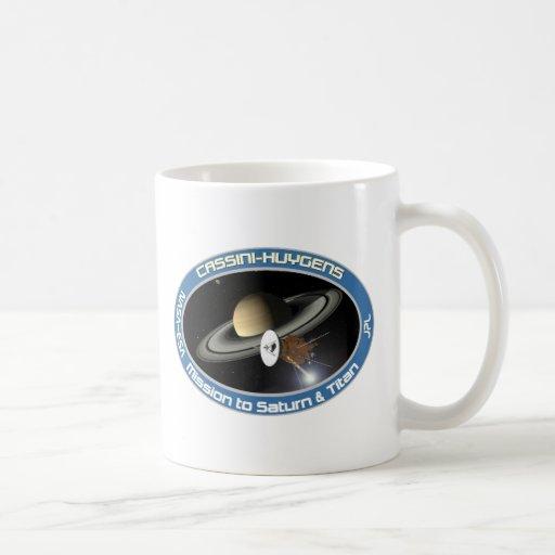 CASSINI - HUYGENS: Misión en Saturn y el titán Tazas De Café