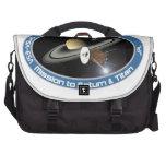 CASSINI - HUYGENS: Mission to Saturn & Titan Laptop Commuter Bag