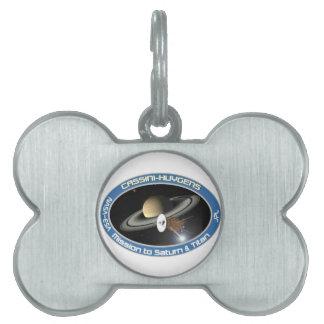 CASSINI - HUYGENS: Mission to Saturn & Titan Pet ID Tag