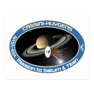 CASSINI - HUYGENS: Mission to Saturn & Titan Post Cards