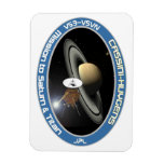 CASSINI - HUYGENS: Mission to Saturn & Titan Flexible Magnets