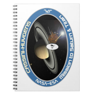 CASSINI - HUYGENS: Mission to Saturn & Titan Spiral Notebook