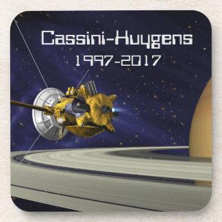 Cassini Huygens Saturn Mission Spacecraft Beverage Coaster