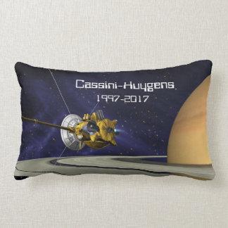 Cassini Huygens Saturn Mission Spacecraft Lumbar Pillow