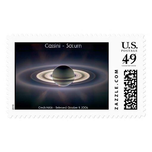 Cassini - Saturn Postage