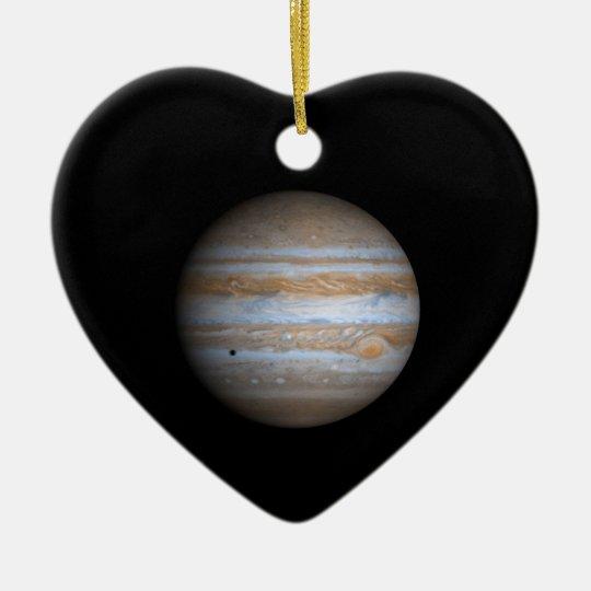 Cassini View of Jupiter NASA Ceramic Ornament