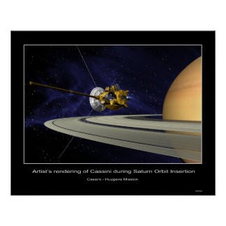 CassiniMission-PIA03883 Póster