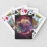 Cassiopeaia galaxy bicycle card decks