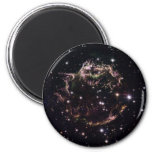 Cassiopeia A 2 Inch Round Magnet