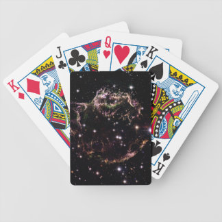 Cassiopeia A Bicycle Playing Cards