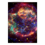 Cassiopeia A Death Becomes Her Greeting Card