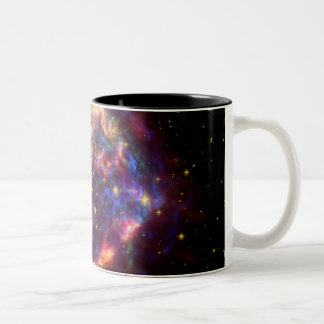 Cassiopeia A: Death Becomes Her Two-Tone Coffee Mug