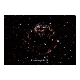 Cassiopeia A Posters
