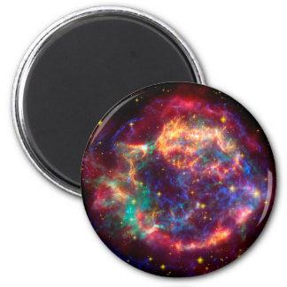Cassiopeia a Spitzer 2 Inch Round Magnet