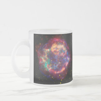 Cassiopeia a Spitzer Frosted Glass Coffee Mug