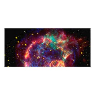 Cassiopeia a Spitzer Rack Card