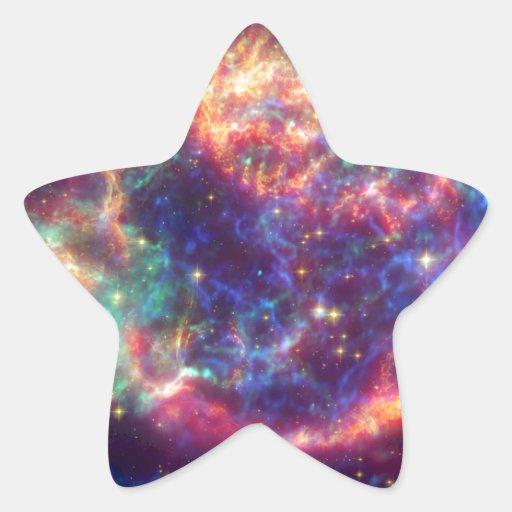 Cassiopeia A Supernova ... Death Becomes Her Star Sticker