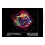 Cassiopeia A Supernova Remnant–Chandra X-ray Obser Greeting Card