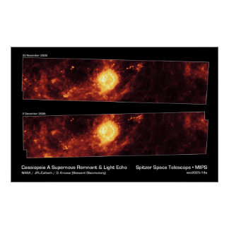 Cassiopeia A Supernova Remnant Posters