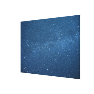 Cassiopeia and Milky Way Canvas Print