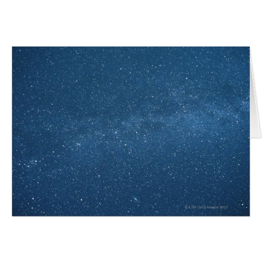 Cassiopeia and Milky Way Card
