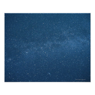 Cassiopeia and Milky Way Poster