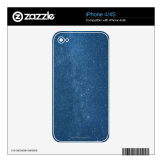 Cassiopeia and Milky Way Skin For The iPhone 4S