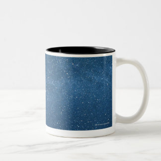 Cassiopeia and Milky Way Two-Tone Coffee Mug