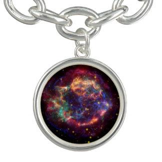 Cassiopeia Constellation Bracelet