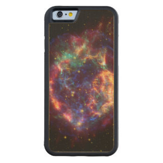 Cassiopeia Constellation Carved Maple iPhone 6 Bumper Case