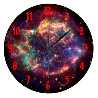 Cassiopeia Constellation Clock