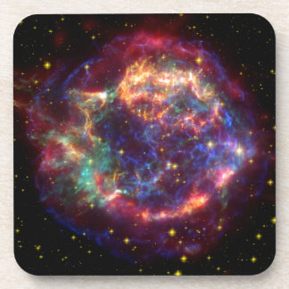 Cassiopeia Constellation Drink Coasters
