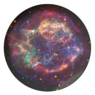 Cassiopeia Constellation Plate