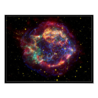 Cassiopeia Constellation Poster