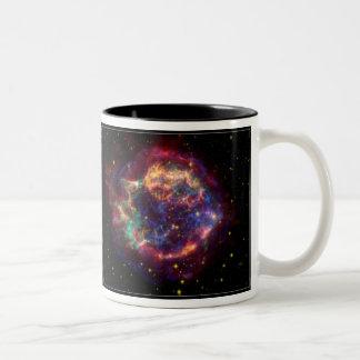 Cassiopeia Constellation Two-Tone Coffee Mug