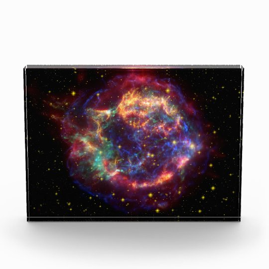 Cassiopeia Galaxy Supernova remnant Acrylic Award