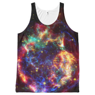 Cassiopeia Galaxy Supernova remnant All-Over-Print Tank Top