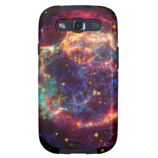 Cassiopeia Galaxy Supernova remnant Galaxy S3 Cover