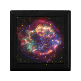Cassiopeia Galaxy Supernova remnant Gift Box