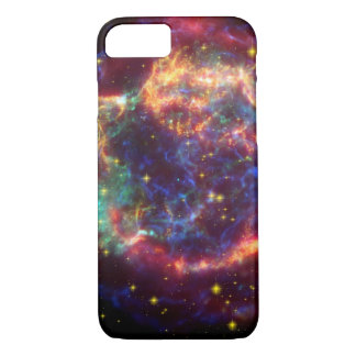 Cassiopeia Galaxy Supernova remnant iPhone 8/7 Case