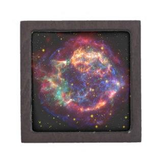 Cassiopeia Galaxy Supernova remnant Jewelry Box