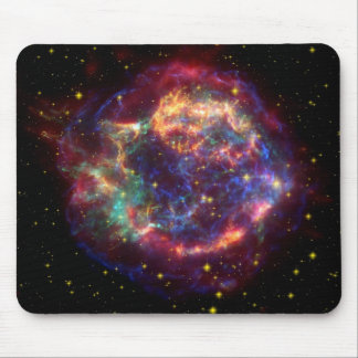 Cassiopeia Galaxy Supernova remnant Mouse Pad