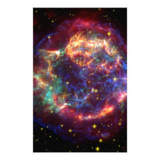 Cassiopeia Galaxy Supernova remnant Stationery