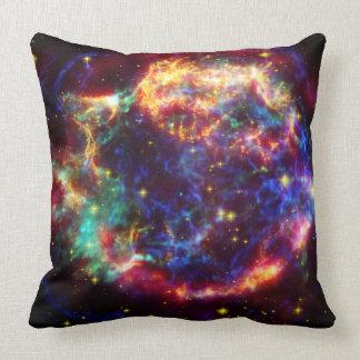 Cassiopeia Galaxy Supernova remnant Throw Pillow
